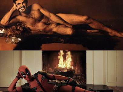 Burt Reynolds y Deadpool