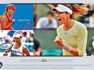El folleto machista del Mutua Madrid Open