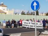 Protestas en Navantia