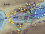 Archipiélago volcánico en el Mar de Alborán.