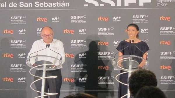 Presentación oficial del Festival de San Sebastián