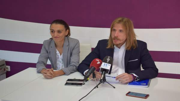 Ruenda de prensa de Podemos