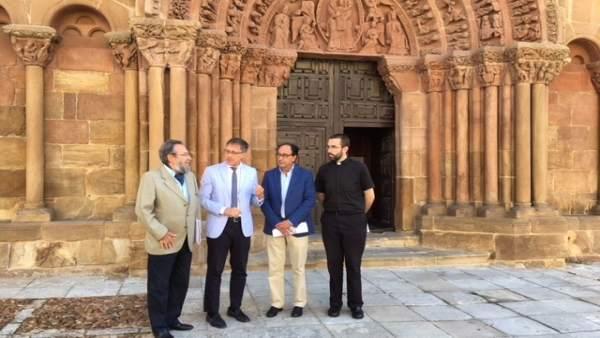 De la Casa, Enrique Saiz, Manuel López y Rubén Tejedor.