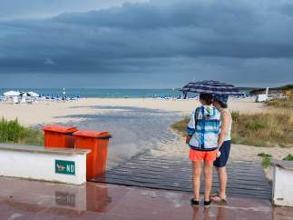 Lluvia en Baleares