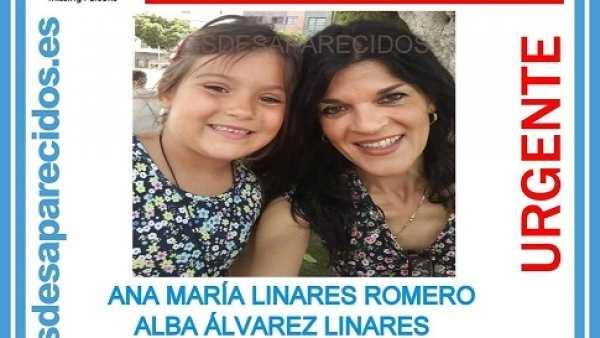 Buscan a una madre y a su hija de 6 años desaparecidas tras coger un vuelo de Canarias a Madrid   776945-600-338