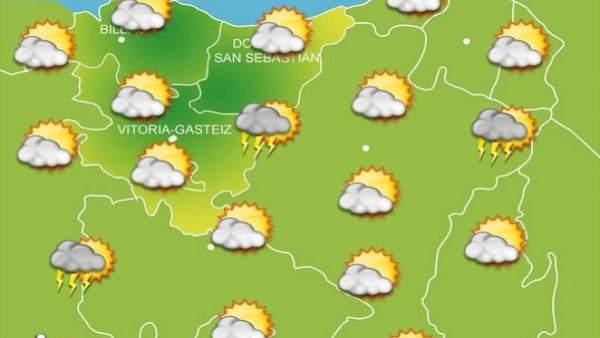 Previsiones meteorológicas para el 8 de septiembre