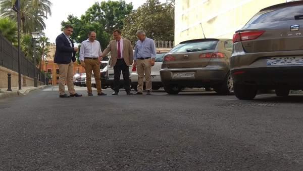 Finalizan las obras del Ayuntamiento de Sevilla en la calle Temprado