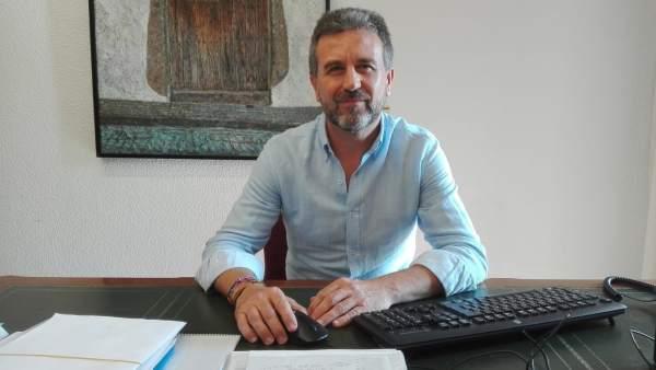 El portavoz de IU en la Diputación, Francisco Sánchez