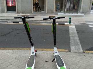 Patinetes eléctricos de alquiler en València