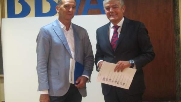 Carlos Gorria y José Luis del Val