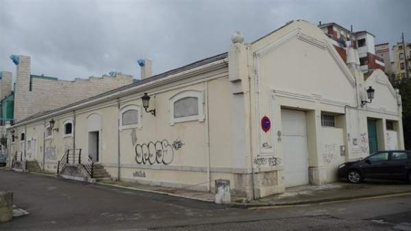 Naves de Gamazo en donde se ubicará sede de arte de la Fundación Enaire (Archivo