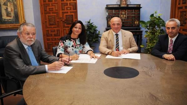 Diputación acometerá la renovación de una red de agua de Fuente Obejuna