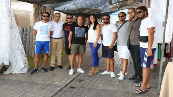 Reunión de Carmen González con asociación de comerciantes Comacor