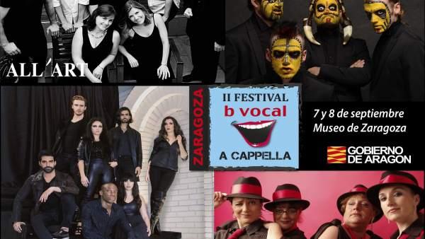 Festival b vocal a capella