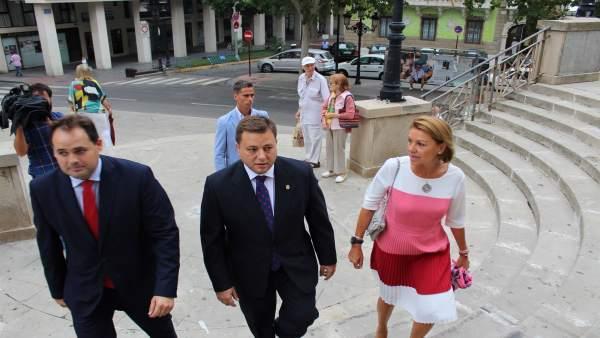Francisco Nüñez, el alcalde de Albacete y Cospedal
