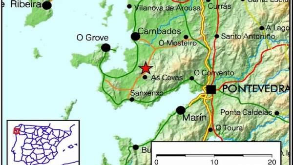Terremoto en As Covas, Meaño