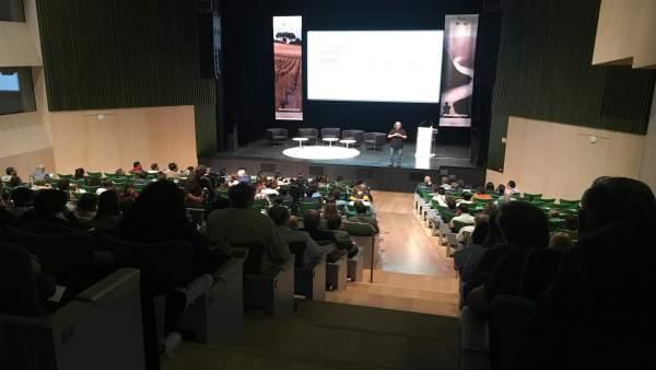 Luis Gutiérrez en el 'Duero International Wine Fest'