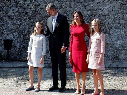 Primer acto oficial de la princesa Leonor
