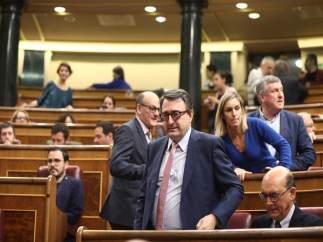 Aitor Esteban y los diputados del PNV