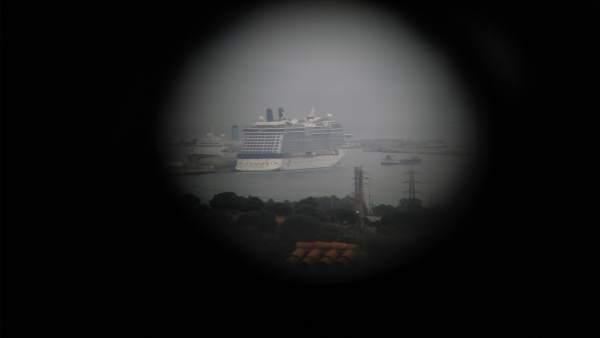 Crucero en el puerto de Gibraltar