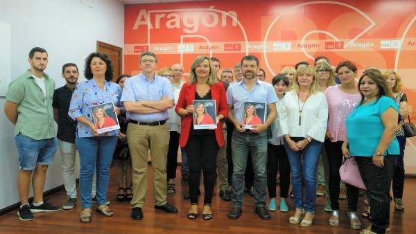 Alegría presenta su programa para las primarias socialistas a la Alcaldía.