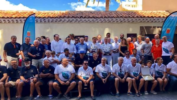 Participantes en la Regata Oceánica Huelva-La Gomera