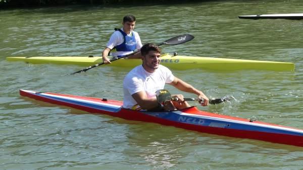 El medallista Cristián Toro ha participado en la celebración del aniversario