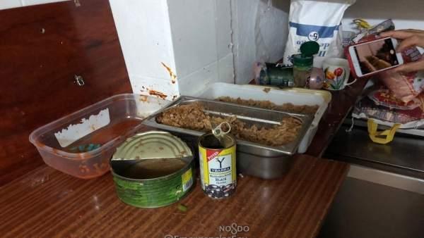 Establecimiento de alimentación precintado en Sevilla