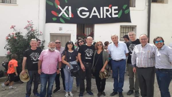 Inauguración del Festival Gaire.