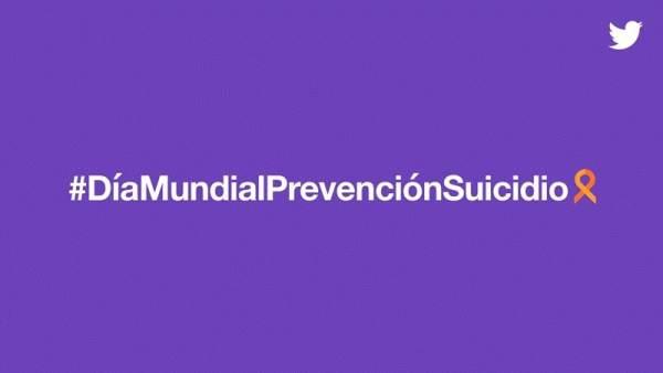 Hastag día mundial de prevención del suicidio