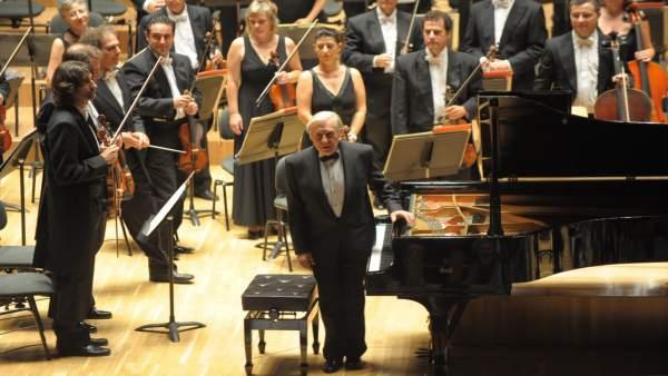 Joaquín Achúcarro en el Palau de la Música