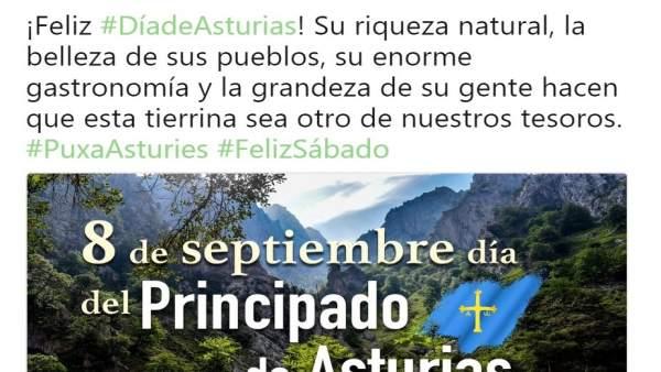 Twitter de Pedro Sánchez