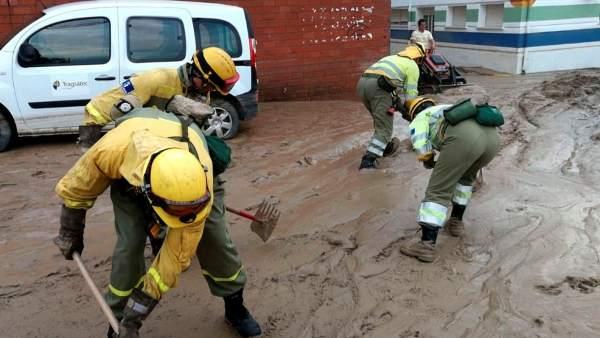 Inundaciones en Cebolla, Toledo