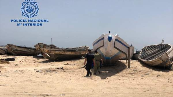Operación Policía Nacional y ECI en Mauritania