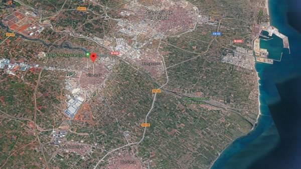 Localización de Vila-real (Castellón)
