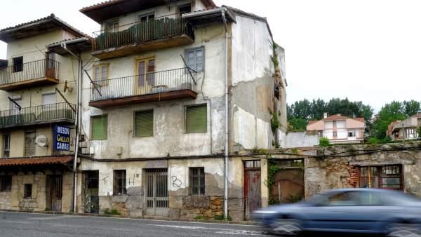 Edificio en ruina en Campogiro