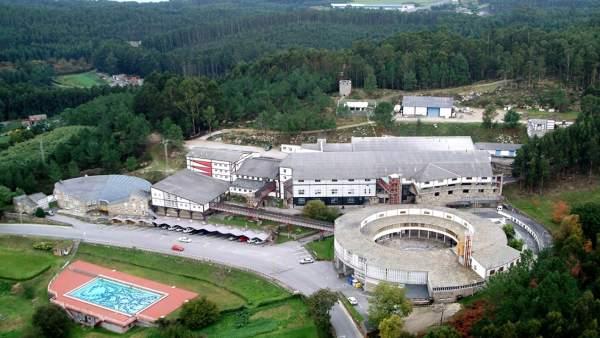 Foto aérea del complejo de Sargadelos en Cervo (Lugo)
