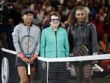 Billie Jean King y Serena Williams