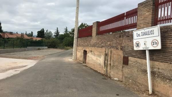 Camino Cañalejos de Lardero