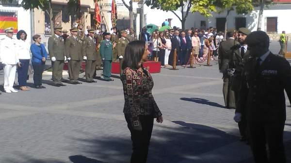 Margarita Robles en Uclés