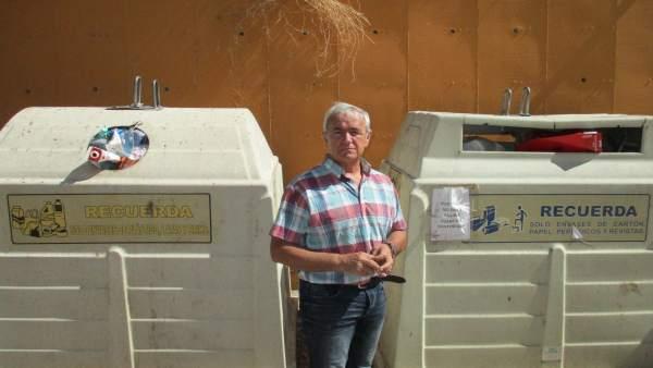 Estado de algunos de los contenedores de Teruel.