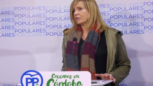 La diputada del PP de Córdoba Rosario Alarcón