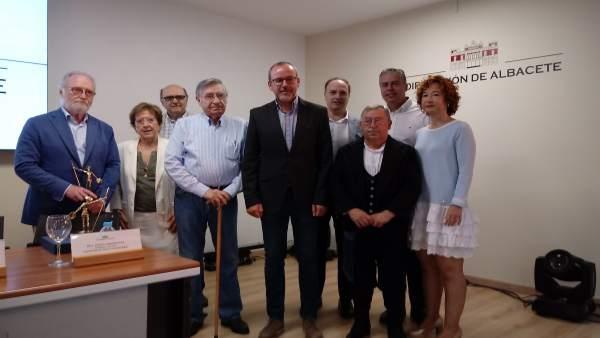 Entrega premios Altozano en Albacete