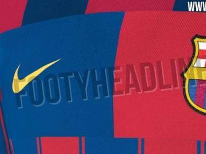 40a476ed7b53d La nueva camiseta del Barcelona será una mezcla de las 20 anteriores