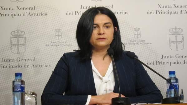 La diputada de Foro Asturias Carmen Fernández
