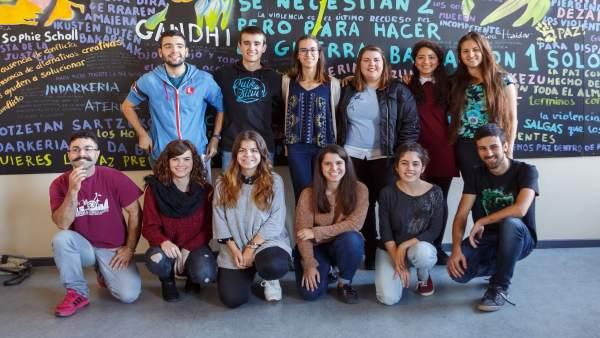 Universitarios participantes en el Proyecto Ruiseñor/Urretxindorra
