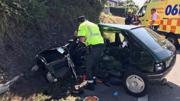 Accidente mortal en Pontevedra