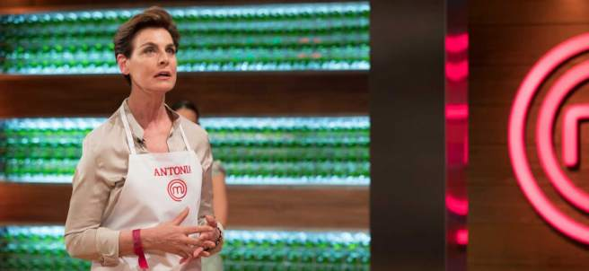 Antonia Dell'Att en 'MasterChef Celebrity'