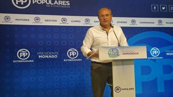 Foto de archivo de José Antonio Monago