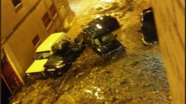 Inundaciones en Beas de Segura